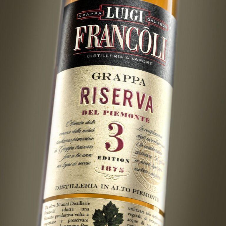 GRAPPA Luigi Francoli RISERVA 3 - 700ml