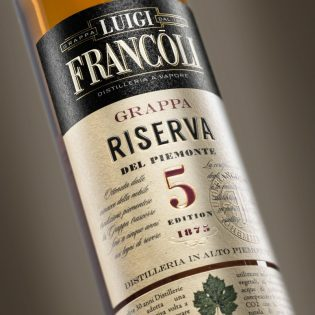 GRAPPA Luigi Francoli RISERVA 5 - 700ml