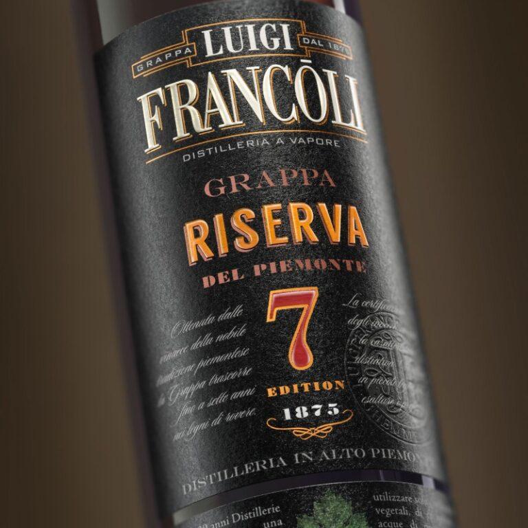 Art. 009 GRAPPA Luigi Francoli RISERVA 7 - 700ml
