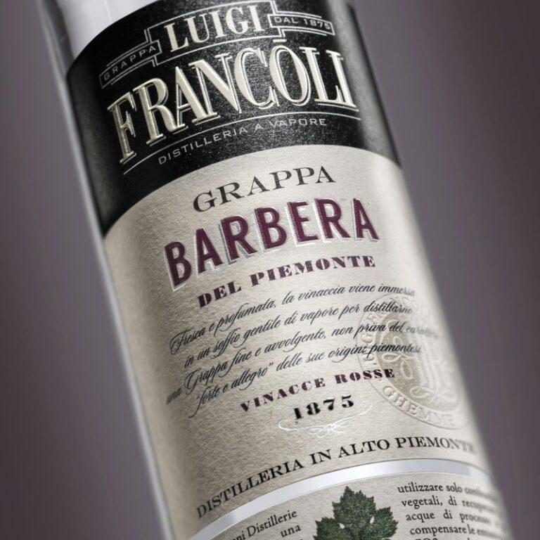 GRAPPA Luigi Francoli BARBERA - 700ml