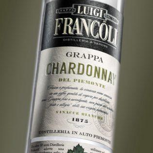 Art. 003 GRAPPA Luigi Francoli CHARDONNAY -700ml