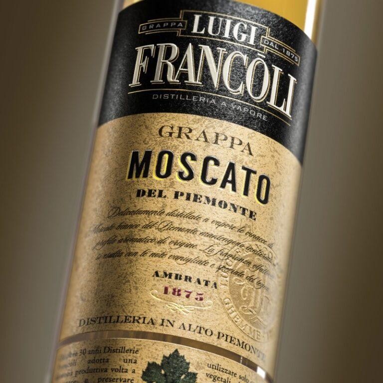 GRAPPA Luigi Francoli MOSCATO IN BARRIQUE -700ml