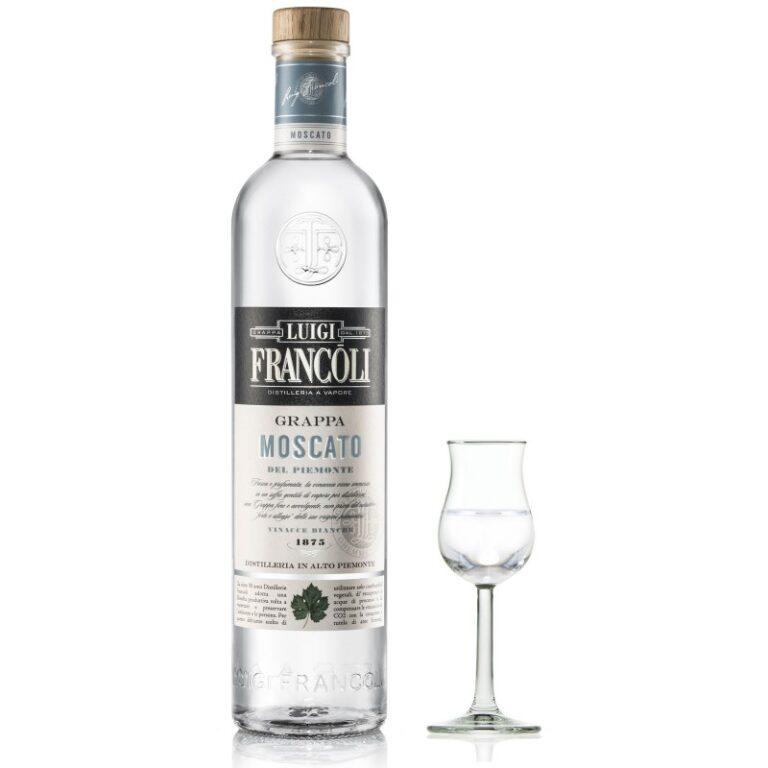 GRAPPA Luigi Francoli MOSCATO -700 ml