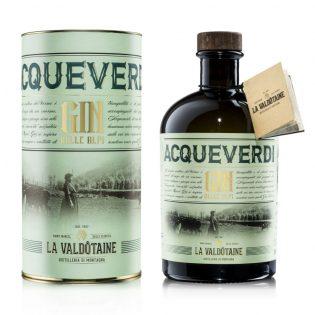 GIN ACQUEVERDI La Valdotaine -1000ml Gift Tube