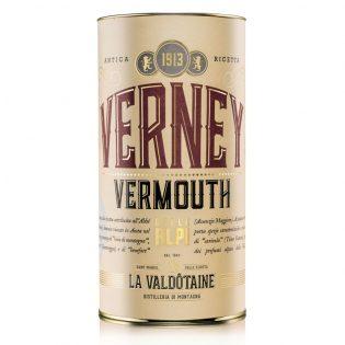 VERMOUTH VERNEY La Valdotaine -1000ml Gift Tube