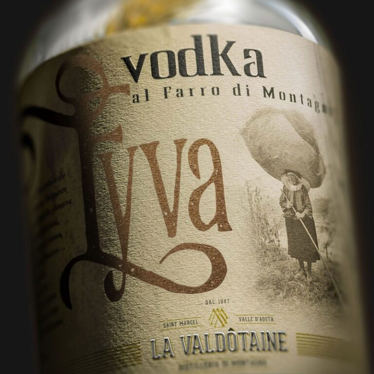 VODKA EYVA La Valdotaine -1000ml
