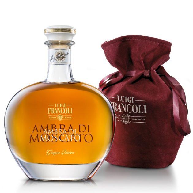 GRAPPA Luigi Francoli L' AMBRA DEL MOSCATO Ast. Velvet -700ml
