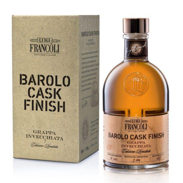Art. 031 GRAPPA Luigi Francoli BAROLO CASK FINISH -500ml
